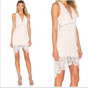 NWT! ASTR The Label White Lace Caroline Dress M